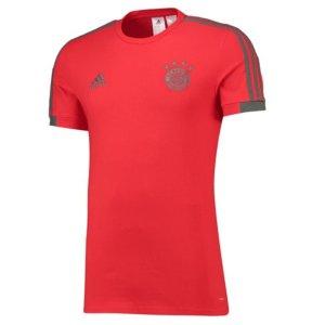 2018-2019 Bayern Munich Adidas Training Tee (Red)
