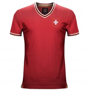 Vintage Switzerland Home Soccer Jersey