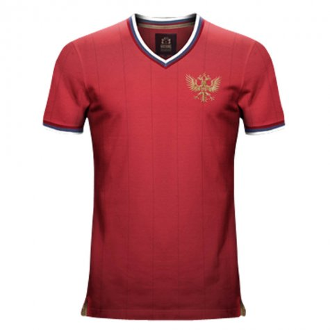 Vintage Russia Home Soccer Jersey