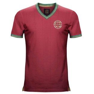 Vintage Portugal Home Soccer Jersey