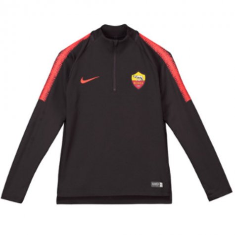 2018-2019 AS Roma Nike Drill Training Top (Burgundy) - Kids