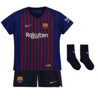 2018-2019 Barcelona Home Nike Baby Kit