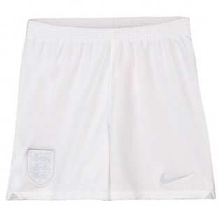 2018-2019 England Nike Away Shorts (White) - Kids