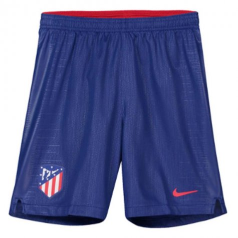 2018-2019 Atletico Madrid Home Nike Football Shorts (Kids)
