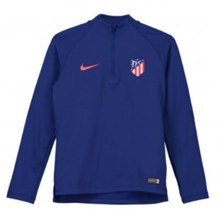 2018-2019 Atletico Madrid Nike Drill Top (Royal Blue) - Kids