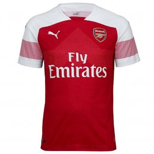 2018-2019 Arsenal Puma Home Football Shirt (Kids)
