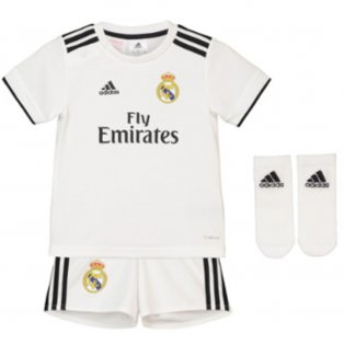 2018-2019 Real Madrid Adidas Home Baby Kit