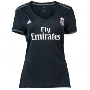 2018-2019 Real Madrid Adidas Womens Away Shirt