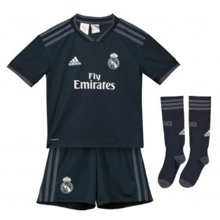 2018-2019 Real Madrid Adidas Away Full Kit (Kids)