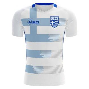 2018-2019 Greece Home Concept Football Shirt (Kids)