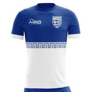 2018-2019 Greece Away Concept Football Shirt