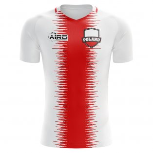 2018-2019 Poland Home Concept Football Shirt (Kids)