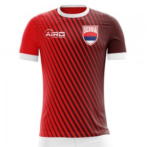 2020-2021 Serbia Home Concept Football Shirt - Little Boys