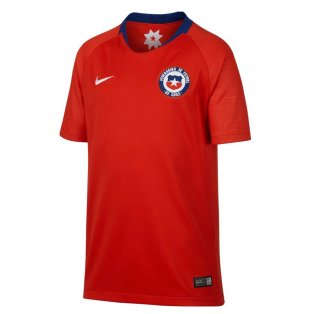 2018-2019 Chile Home Nike Football Shirt