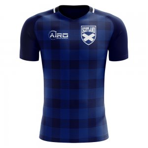 2018-2019 Scotland Tartan Concept Football Shirt - Baby