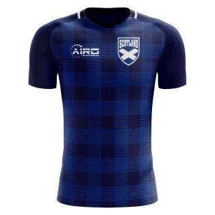 2020-2021 Scotland Tartan Concept Football Shirt (Kids)