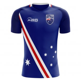 2020-2021 Australia Flag Away Concept Football Shirt - Little Boys