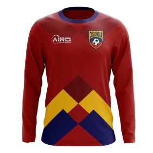 2122f0e8361 2018-2019 Colombia Long Sleeve Away Concept Football Shirt