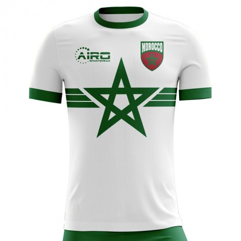 2018-2019 Morocco Away Concept Football Shirt
