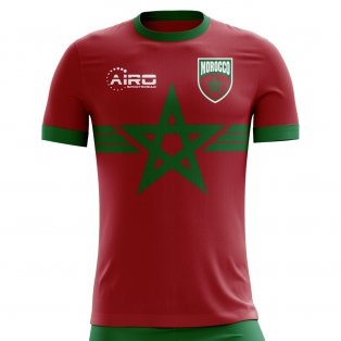 2020-2021 Morocco Third Concept Football Shirt