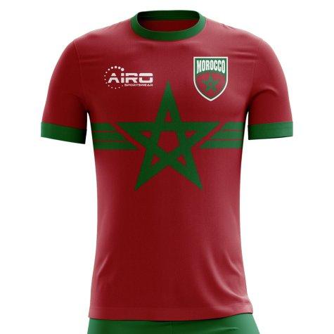 2018-2019 Morocco Third Concept Football Shirt