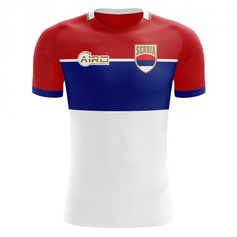 2020-2021 Serbia Away Concept Football Shirt