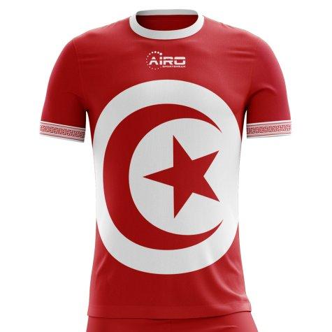 2018-2019 Tunisia Away Concept Football Shirt (Kids)