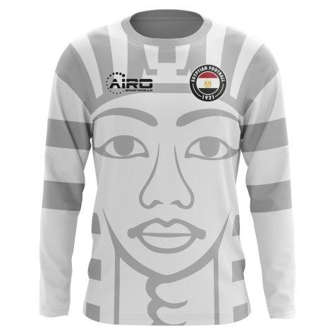 2020-2021 Egypt Long Sleeve Away Concept Football Shirt