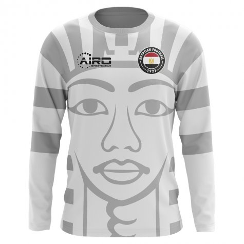 2018-2019 Egypt Long Sleeve Away Concept Football Shirt (Kids)