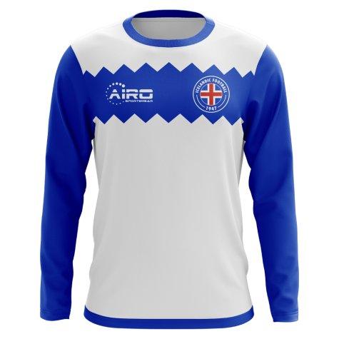 2018-2019 Iceland Long Sleeve Away Concept Football Shirt