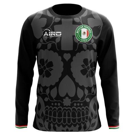 2018-2019 Mexico Long Sleeve Third Concept Football Shirt