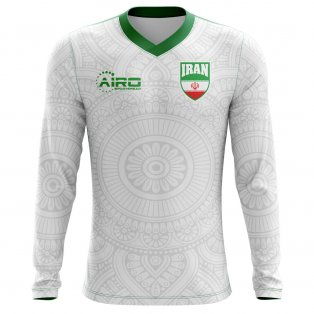 b2cf825df 2018-2019 Iran Long Sleeve Home Concept Football Shirt