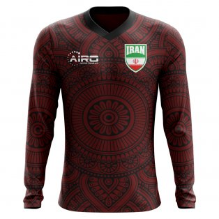 2020-2021 Iran Long Sleeve Away Concept Football Shirt (Kids)