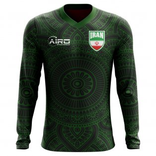 2020-2021 Iran Long Sleeve Third Concept Football Shirt (Kids)