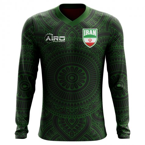 2018-2019 Iran Long Sleeve Third Concept Football Shirt (Kids)