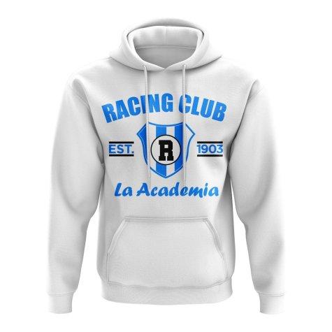 Racing Club Established Football Hoody (White)