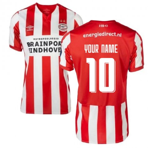 2019-2020 PSV Eindhoven Home Football Shirt (Kids) (Your Name)