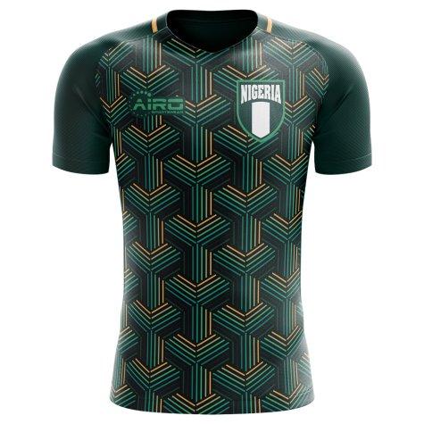2018-2019 Nigeria Third Concept Football Shirt - Womens