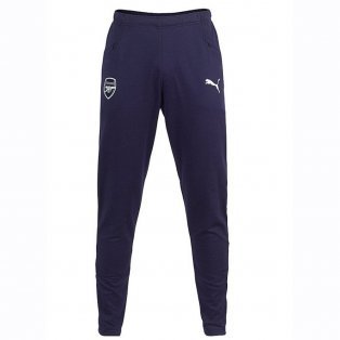 2018-2019 Arsenal Puma Casual Performance Sweat Pants (Peacot) - Kids