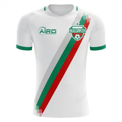 2018-2019 Bulgaria Home Concept Football Shirt