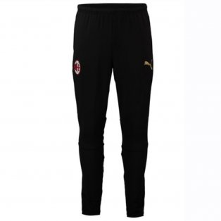 2018-2019 AC Milan Puma Training Pants (Black) - Kids