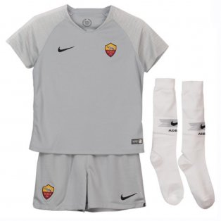 2018-2019 AS Roma Away Nike Little Boys Mini Kit