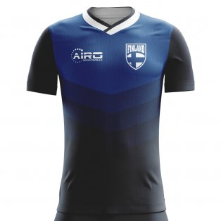 2018-2019 Finland Away Concept Football Shirt (Kids)