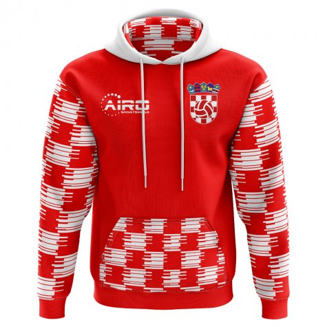 2018-2019 Croatia Home Concept Hoody (Kids)