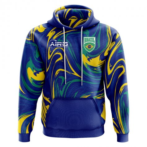 2018-2019 Brazil Away Concept Hoody (Kids)