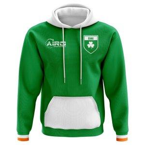 2020-2021 Ireland Home Concept Football Hoody