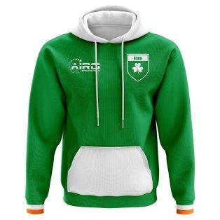 2018-2019 Ireland Home Concept Football Hoody (Kids)