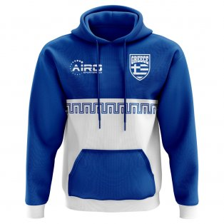 2020-2021 Greece Home Concept Football Hoody