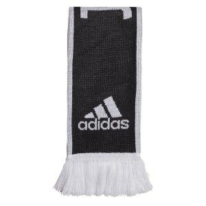 2018-2019 Juventus Adidas 3S Scarf (Black-White)