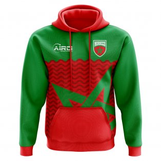 2020-2021 Morocco Home Concept Football Hoody